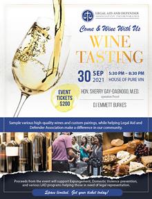 LAD Wine Tasting Fundraiser - Uploaded by Tiana Starks