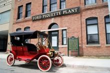 Model T at Ford Piquette Avenue Plant - Uploaded by David Flatt