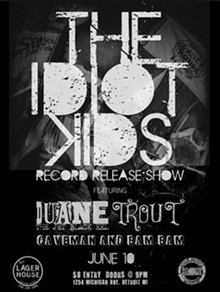 THE IDIOT KIDS RELEASE SHOW FACEBOOK EVENT PAGE