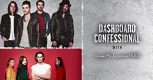 DASHBOARD CONFESSIONAL WITH THE ALL-AMERICAN REJECTS FACEBOOK EVENT PAGE
