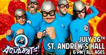 THE AQUABATS! AT ST. ANDREWS FACEBOOK EVENT PAGE