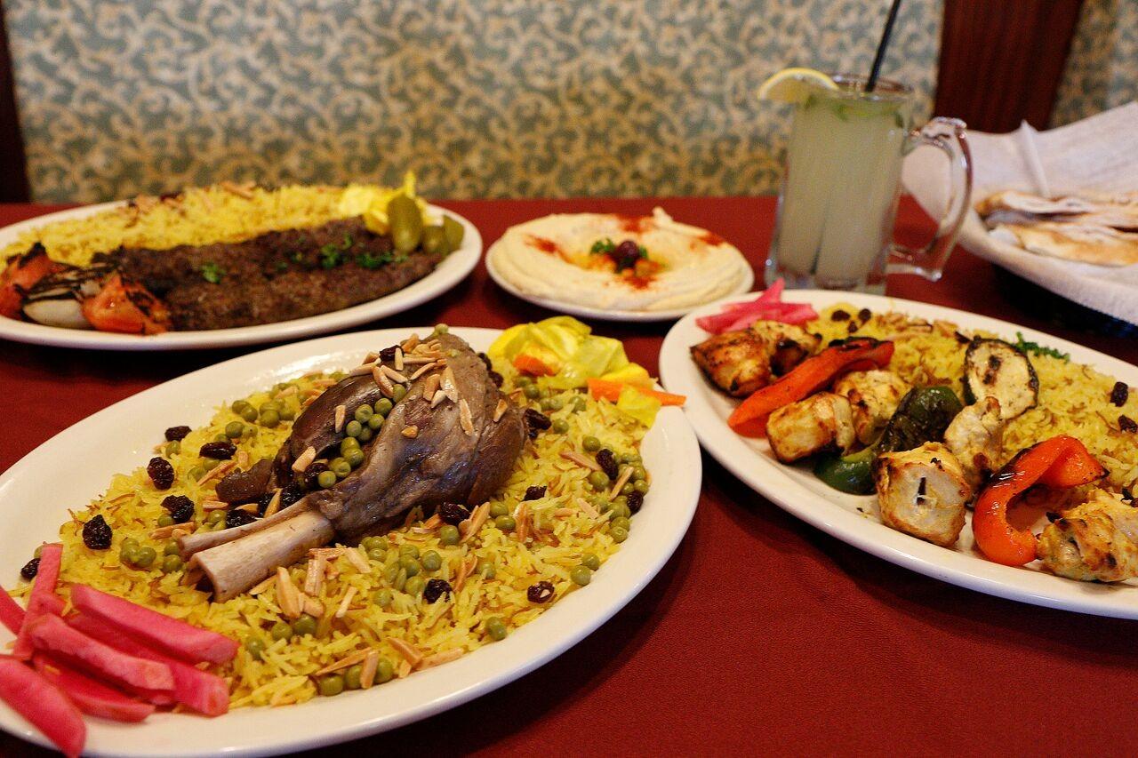 Middle east side ali baba shish kabob food drink for Ali baba mid eastern cuisine