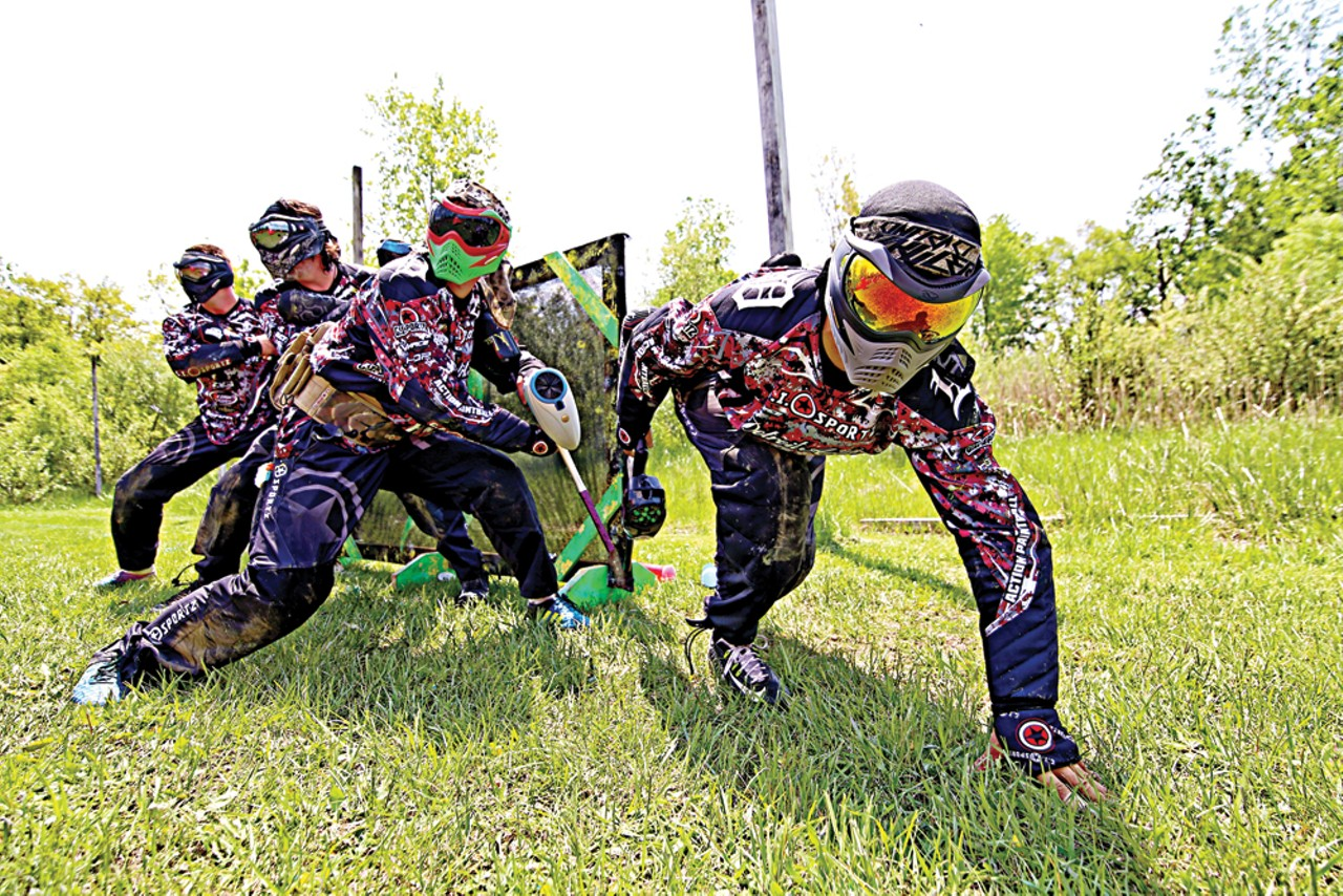 ouest paintball essay