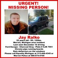 Update: Missing 22-year-old transgender man found dead in Warren Meijer parking lot