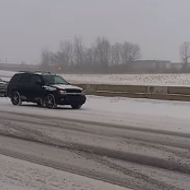 VIDEO: Naked cowboy takes a jaunt down I-75 during snowstorm