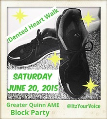 IMAGE BY E.L. JONES - Walk to raise funds and awareness about Larynx Cancer. Then stay for family fun at the Block Party!