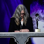 Watch Patti Smith's emotional induction speech for Lou Reed at the Rock Hall of Fame