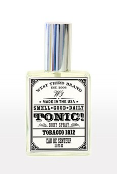We spotted this delightfully aromatic fragrance by West Third Brand at ZMC Pharmacy