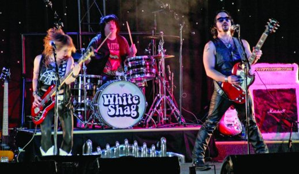 White Shag: From busking on the street to becoming one of the greatest rock bands of all time — maybe.