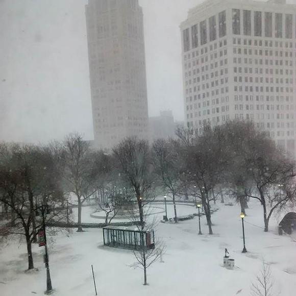 downtown Detroit - MT FILE