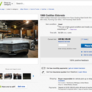 You can buy the '66 Eldorado from Ryan Gosling's 'Lost River' movie on ebay right now