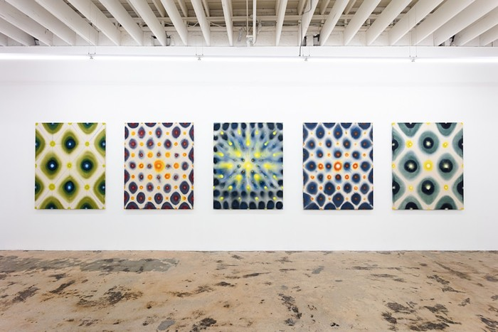 """""""Heat Transfer"""" is an exhibition of Bhakti Baxter's paintings and drawings, on view now through July 31 at the Nina Johnson Gallery. - PHOTO BY BHAKTI BAXTER AND NINA JOHNSON GALLERY"""