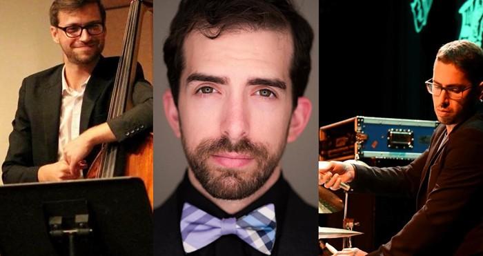 The Zach Bartholomew Trio features pianist Bartholomew with bassist Marty Quinn and drummer Rodolfo Zuniga. - PHOTO COURTESY OF COMMUNITY ARTS PROGRAM SUMMER CONCERT SERIES