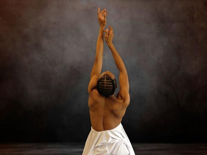 """Daniel White in Gerald Arpino's """"Touch Me."""" - PHOTO COURTESY OF DIMENSIONS DANCE THEATRE OF MIAMI"""