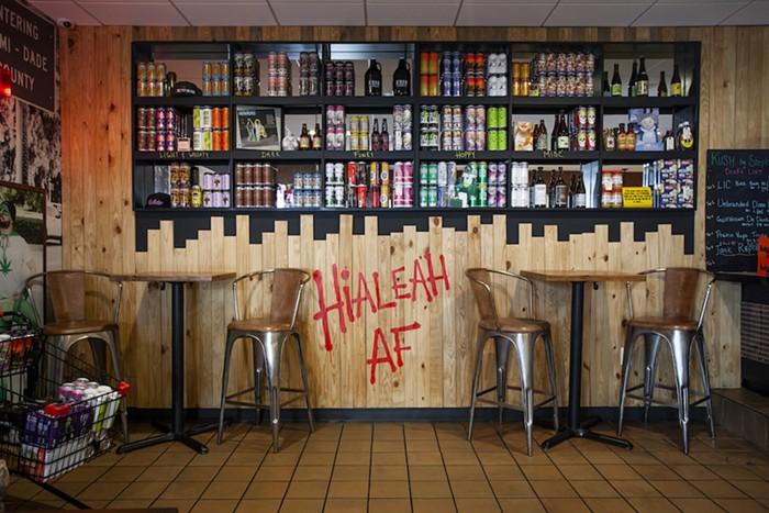 Inside Kush Hialeah - PHOTO COURTESY OF KUSH HIALEAH