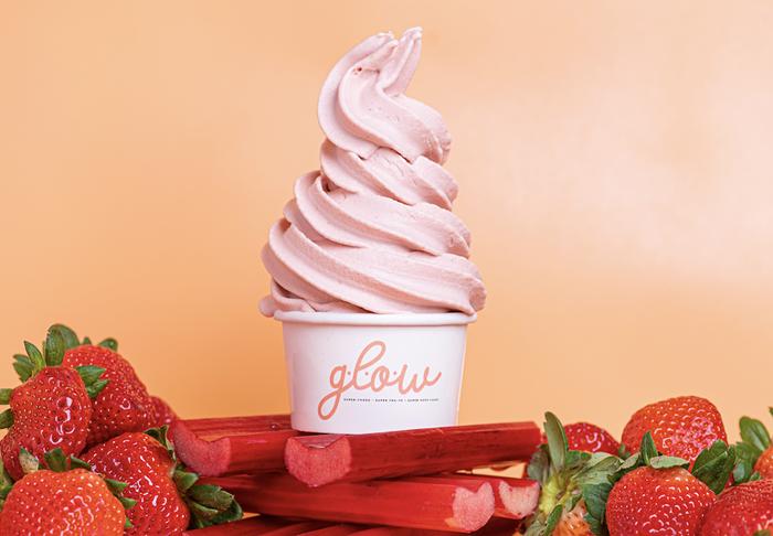Frozen yogurt at G.L.O.W. - PHOTO COURTESY OF G.L.O.W.