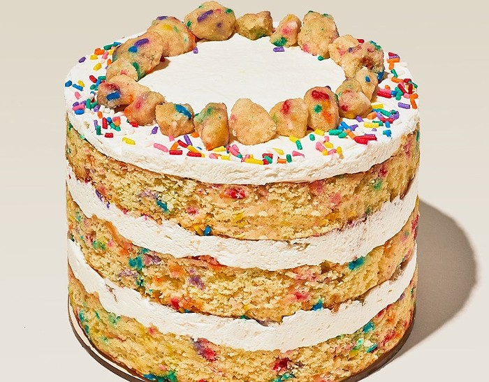 Milk Bar's birthday cake is now available in Miami. - PHOTO COURTESY OF MILK BAR