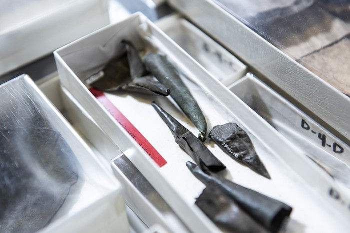 Tequesta artifacts - PHOTO COURTESY OF HISTORYMIAMI