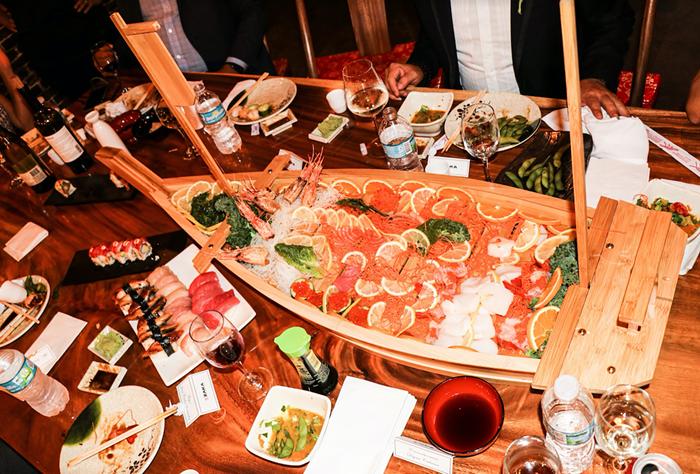Sushi and cocktails at Jia. - PHOTO COURTESY OF ZAKA MODERN JAPANESE CUISINE