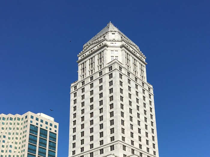Floors 16 and above were evacuated at the Miami-Dade County Courthouse downtown. - PHOTO BY PHILLIP PESSAR/FLICKR