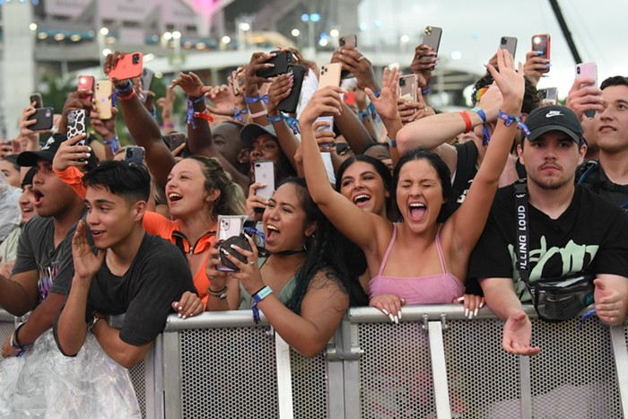 Fans were eager to see their favorite acts at Rolling Loud. View more photos from day one of Rolling Loud Miami here. - PHOTO BY MICHELE EVE SANDBERG
