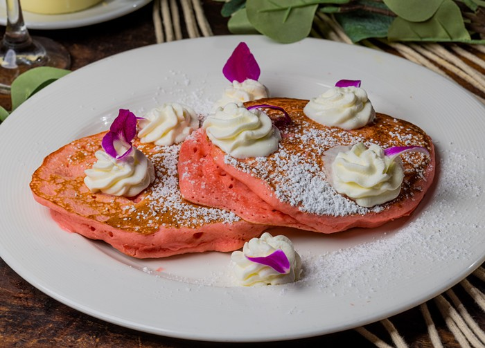 Maü's new weekend brunch menu is Instagram-worthy. - PHOTO COURTESY OF THE LOUIS COLLECTION