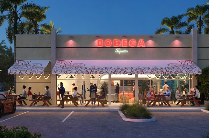 Bodega's latest opening in Aventura is a smaller spinoff of the popular concept. - PHOTO COURTESY OF MENIN HOSPITALITY