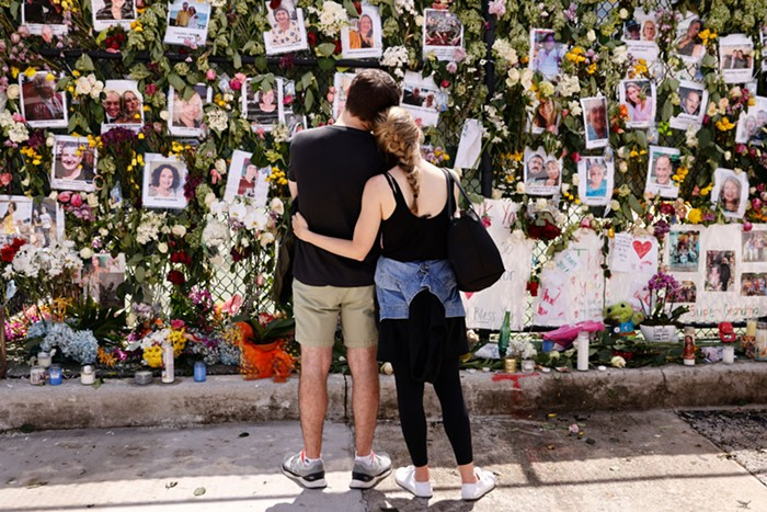 Eliana Salzhauer says it's important that a proper memorial is erected to honor the victims. - PHOTO BY MICHAEL REAVES/GETTY IMAGES