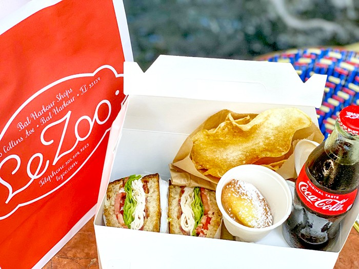 """Le Zoo is now offering a $20 """"lunch box"""" that packages a complete meal in an easy, to-go format. - PHOTO COURTESY OF LE ZOO"""