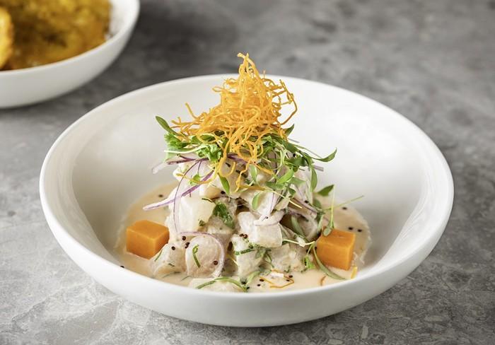 Ceviche from Perl, now open in North Miami Beach. - PHOTO COURTESY OF CARMA CONNECTED