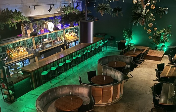 Lost & Found is the new speakeasy rum bar located inside the Sistrunk Marketplace & Brewery. - PHOTO COURTESY OF SOCIETY 8 HOSPITALITY GROUP