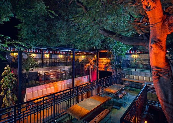 Mayami Mexicantina & Bar channels ancient Mayan culture with its unique multi-level outdoor patio. - PHOTO COURTESY OF MAYAMI MEXICANTINA & BAR