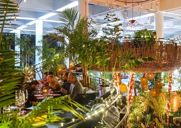 Komodo lets you eat with a bird's-eye view. - PHOTO COURTESY OF KOMODO