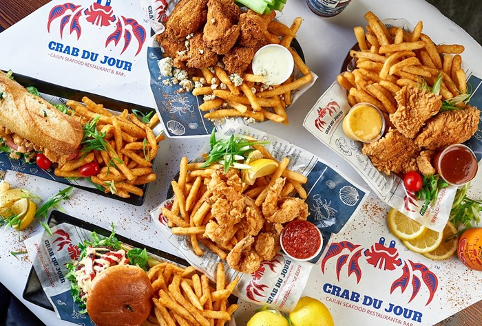 Crab du Jour offers customizable seafood and Cajun-inspired fare. - PHOTO COURTESY OF CRAB DU JOUR
