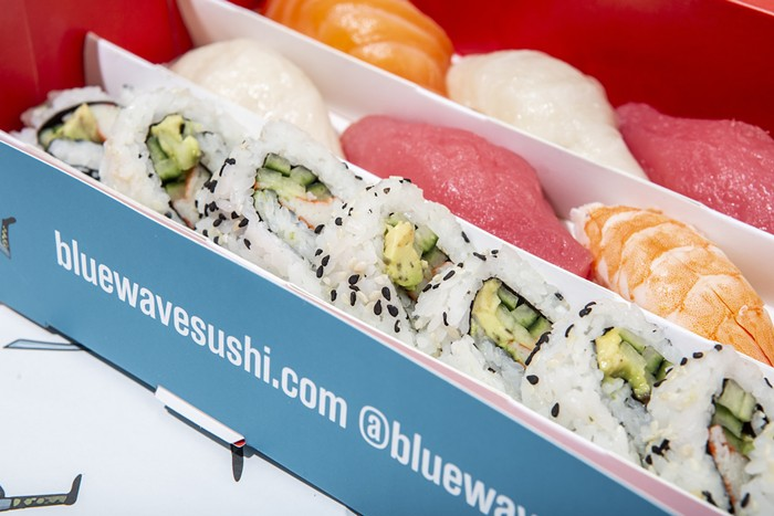 Blue Wave Sushi is now open in West Palm Beach. - PHOTO COURTESY OF GARRETT HOSPITALITY