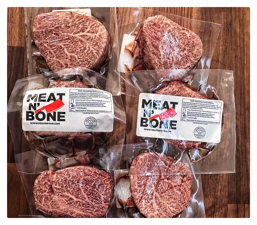 Meat specials at Vecinos Market - PHOTO BY RUBEN CABRERA