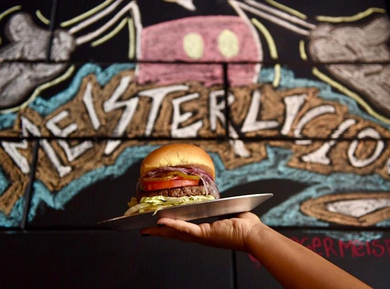 Burgermeister has opened a second location in Brickell. - PHOTO COURTESY OF BURGERMEISTER