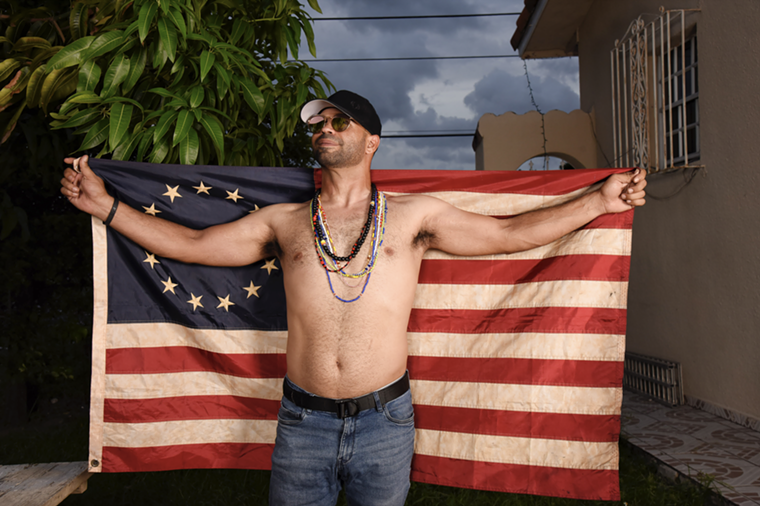 Since becoming chairman in 2018, Tarrio has moved the Proud Boys in a decidedly political direction, and launched them into the national spotlight. - PHOTO BY MICHELE EVE SANDBERG