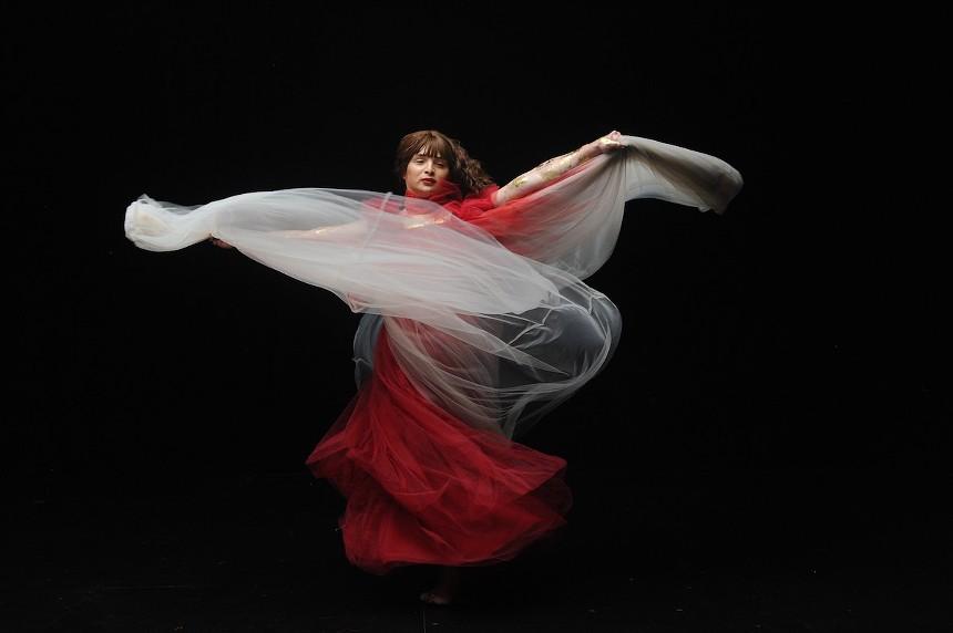Gabriela Cruz in Birds of Paradise. - PHOTO BY WORLD RED EYE