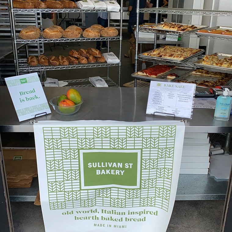 Stop by Sullivan Street on Saturday for the weekly bake sale. - PHOTO COURTESY OF SULLIVAN STREET BAKERY MIAMI