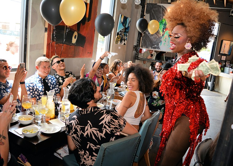 Visit R House for an epic drag brunch to commemorate Miami Beach Pride. - PHOTO COURTESY OF R HOUSE