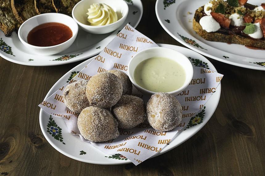 "Osteria Morini's brunch menu gets a ""groovy"" makeover on Saturday, September 11. - PHOTO COURTESY OF OSTERIA MORINI"