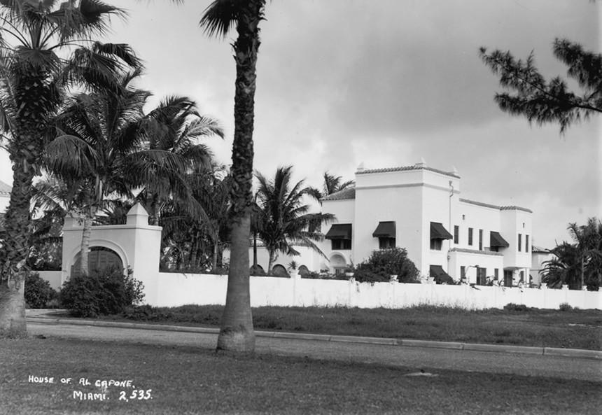 Al Capone's Palm Island home in 1938 - PHOTO BY FOX PHOTOS/GETTY