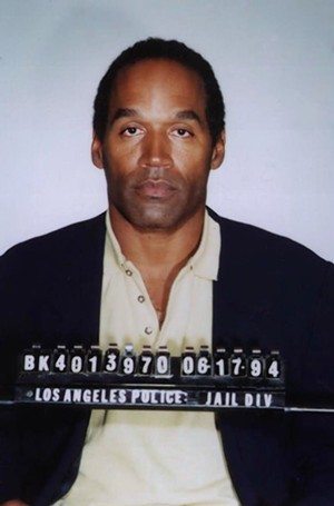 The most infamous mugshot of the 1990s - PHOTO VIA WIKIMEDIA COMMONS