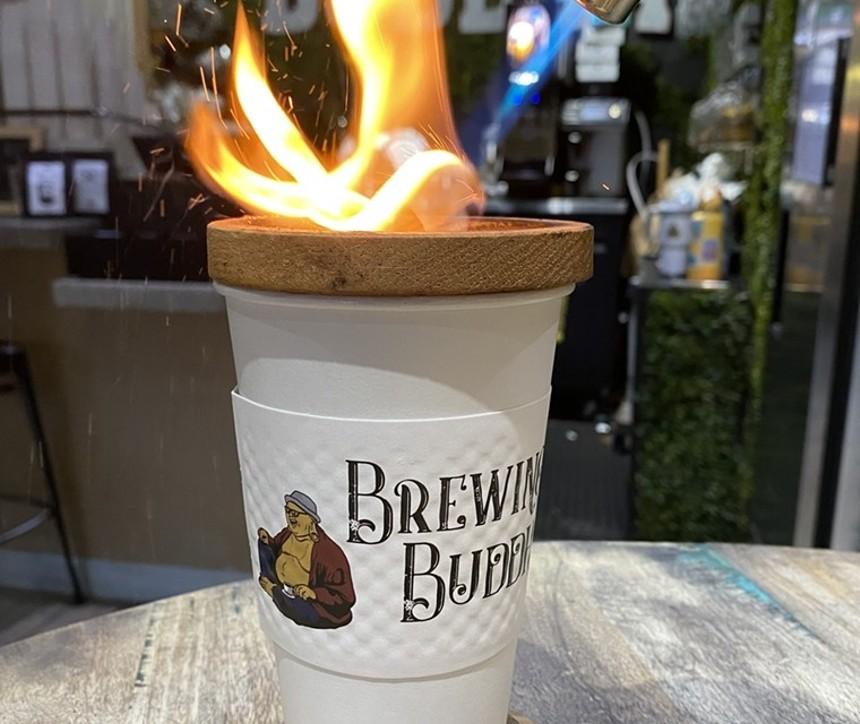 Vanilla hemp latte at Brewing Buddha - PHOTO COURTESY OF BREWING BUDDHA CAFE