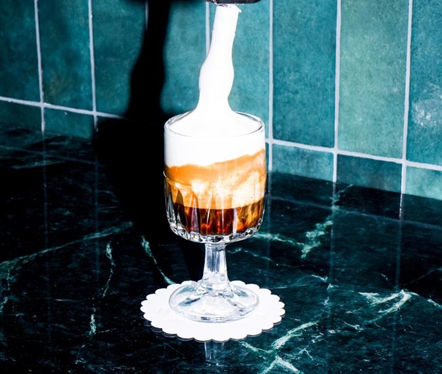 """Bebito's fluffy """"Cloud Latte"""" - PHOTO COURTESY OF SOFIA PERAZZO AND BEBITO'S CAFE"""