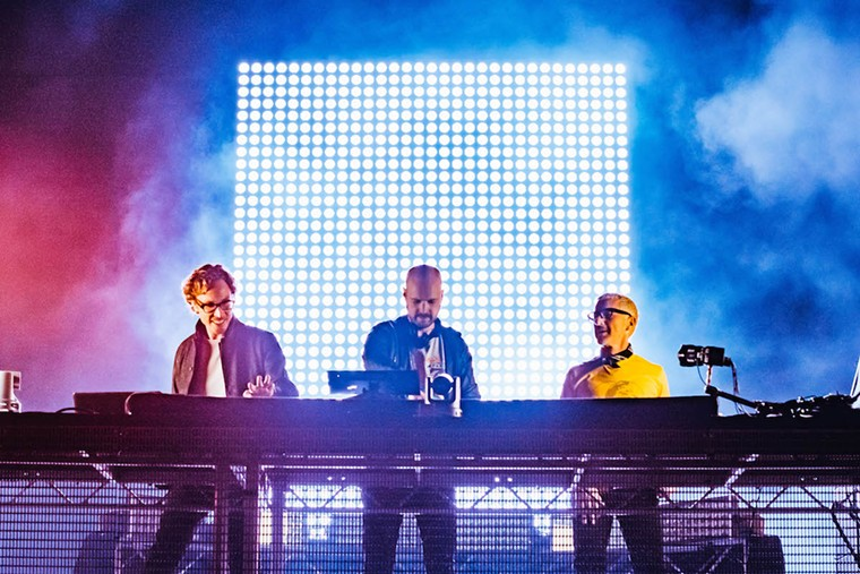 Above & Beyond performing in London on September 4, 2021. - PHOTO BY LUKE DEAKIN