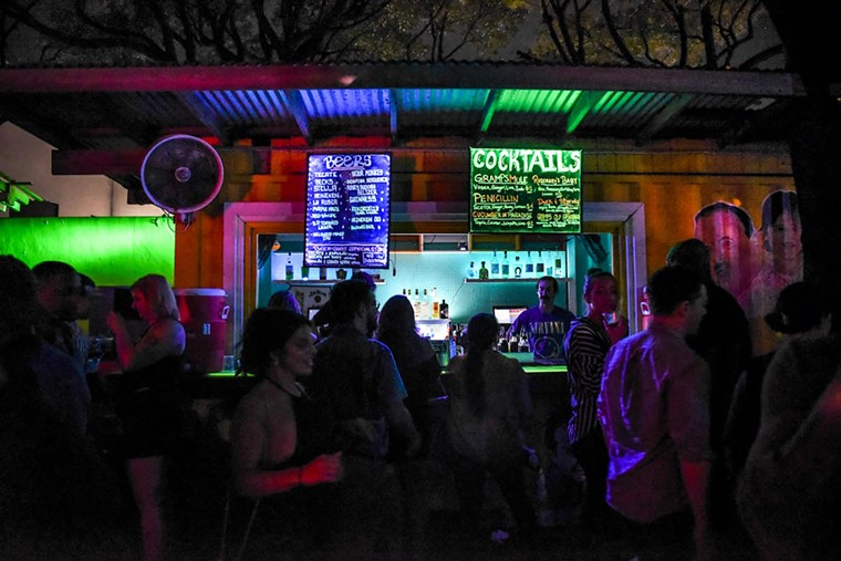 Gramps is one of the remaining bars in the neighborhood that have yet to institute a cover charge. See more photos from Wynwood's nightlife scene here. - PHOTO BY MICHELE EVE SANDBERG