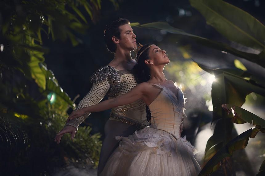 Miami City Ballet kicks off its season with a classic, Swan Lake. - PHOTO BY GARY JAMES
