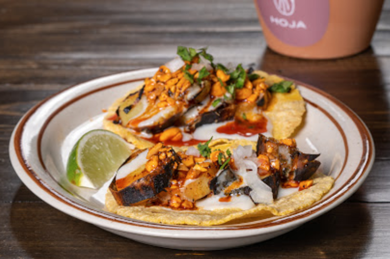 Taqueria Hoja is now open in the Ingraham Building in downtown Miami. - PHOTO COURTESY OF TAQUERIA HOJA